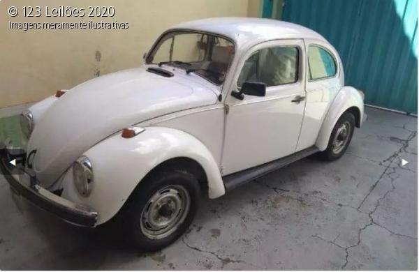 Veículo Volkswagen Fusca