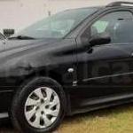Veículo Peugeot/206 SW16 ESCA FX, ano 2008, álcool/gasolina, cor preta